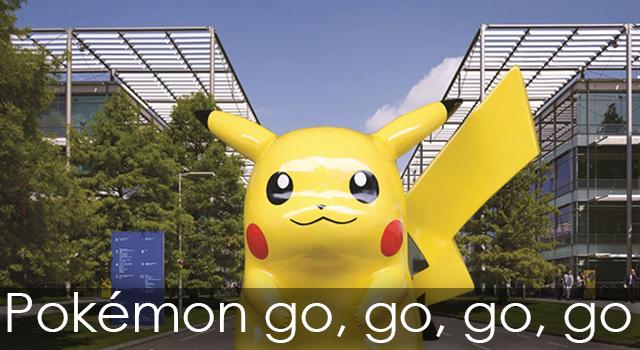 Pokemon & Chiswick Park