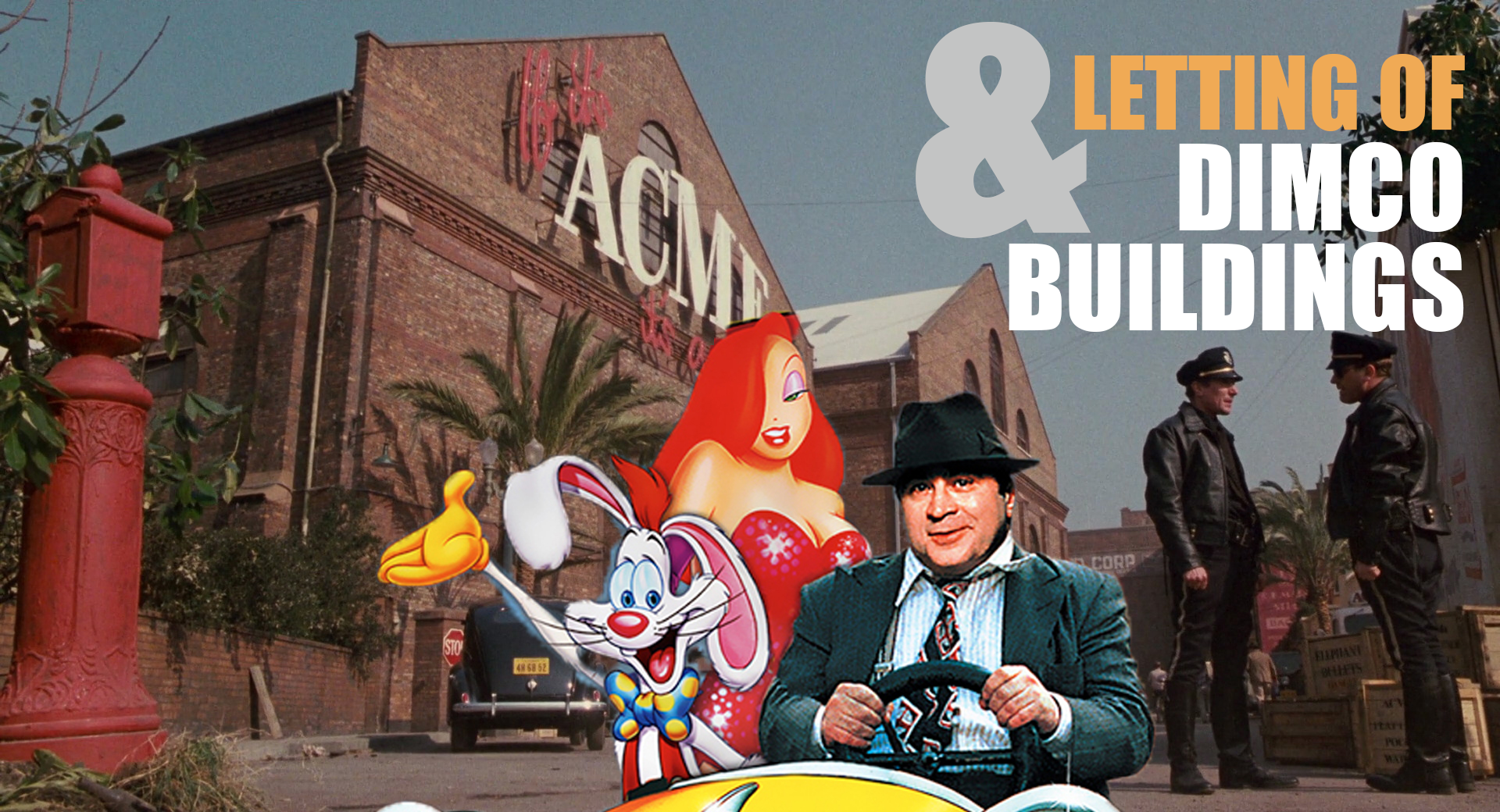 Who Framed Roger Rabbit, filmed at Dimco Buildings
